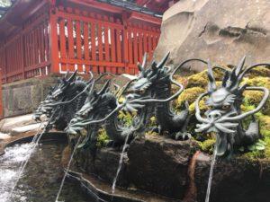 外国人,おもてなし,接客,箱根神社