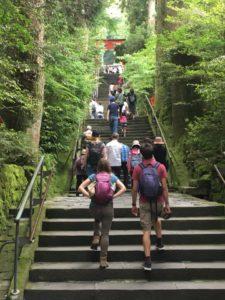 外国人,おもてなし,接客,箱根